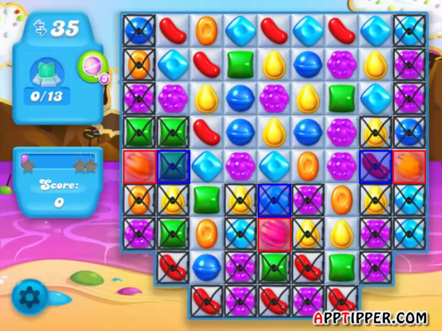 how to play level 10 on candy crush