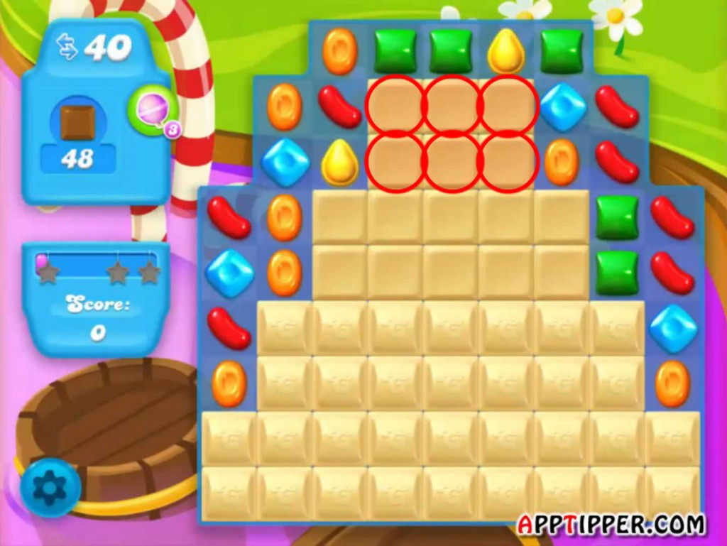 Candy Crush Soda Saga Level 121 Tip