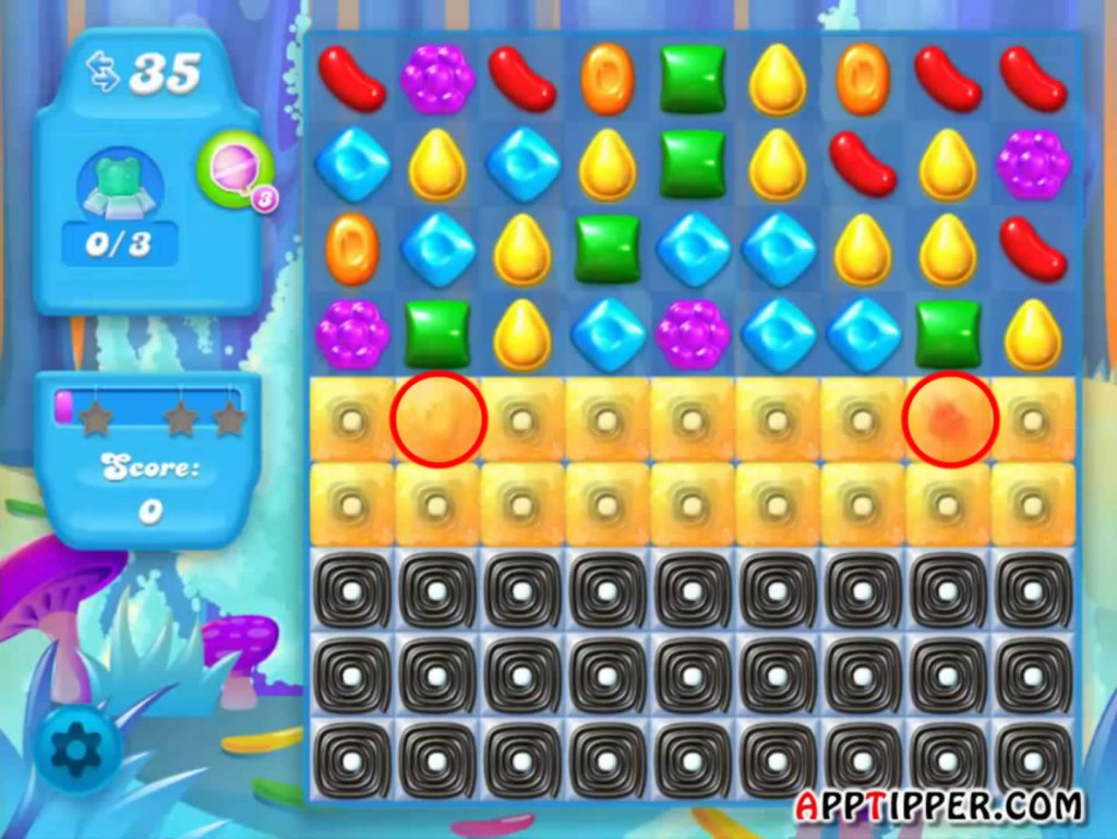 Candy Crush Soda Saga Level 138 Tip