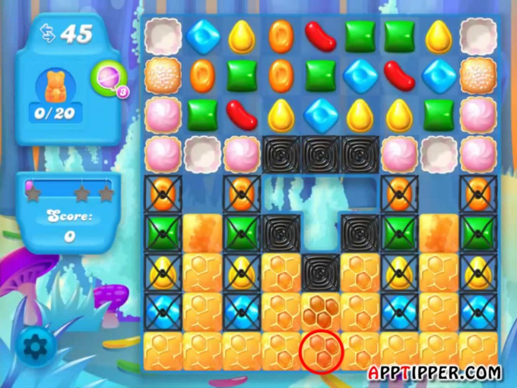 Candy Crush Soda Saga Level 140 Tip