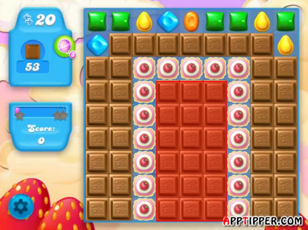 Candy Crush Soda Saga Level 41 Tip
