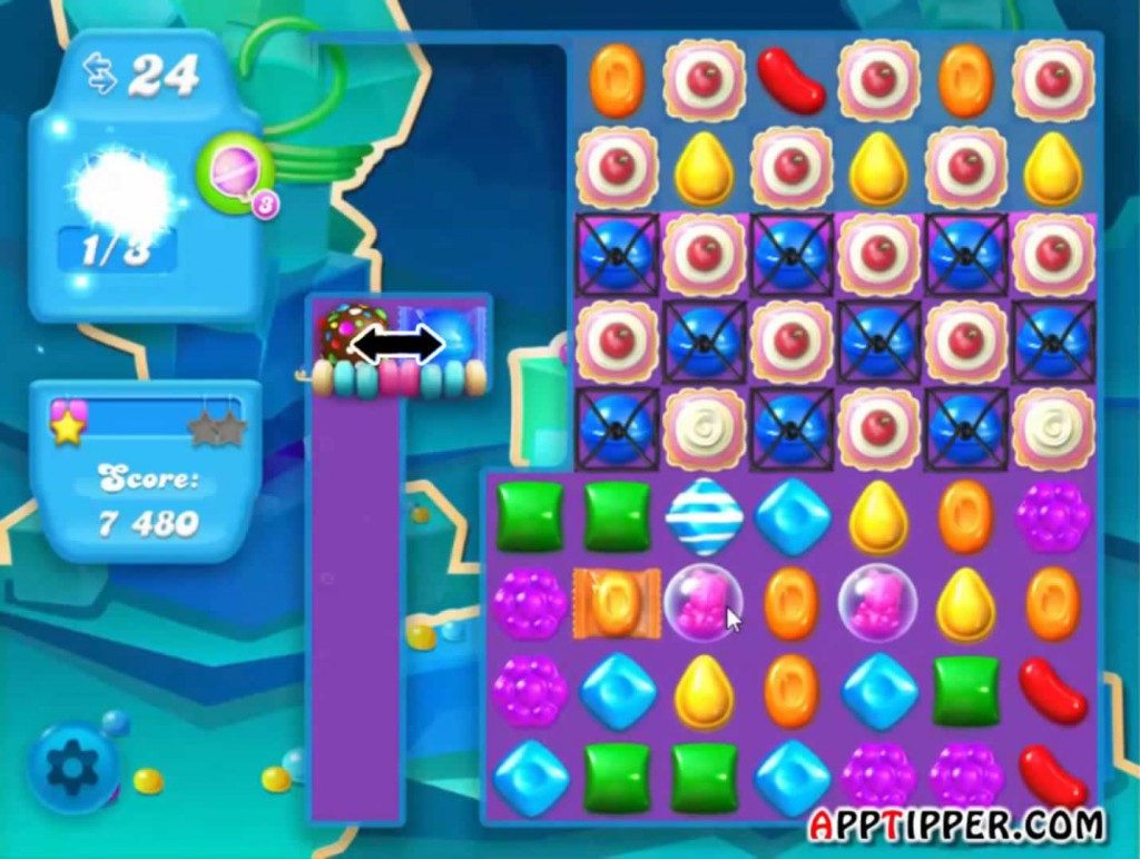 Candy Crush Soda Saga Level 49 Tip