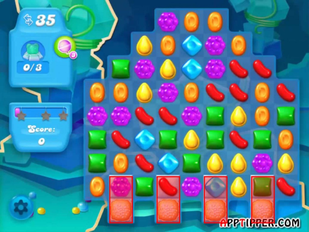 Candy Crush Soda Saga Level 51 Tip