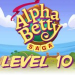 AlphaBetty Saga Level 10