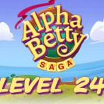 AlphaBetty Saga Level 24