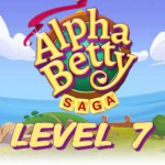 AlphaBetty Saga Level 7