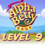 AlphaBetty Saga Level 9