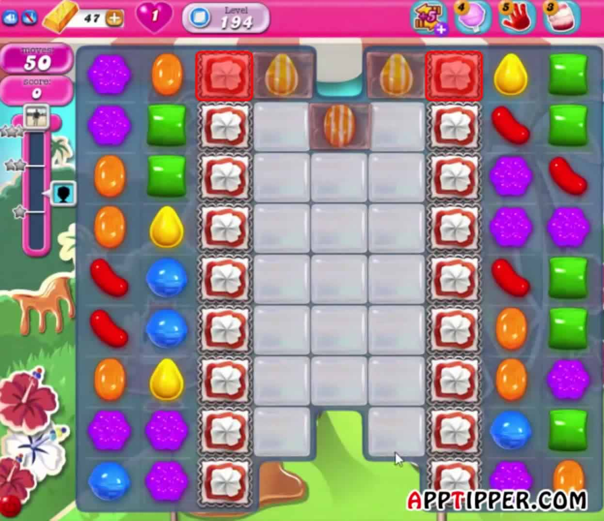 Candy Crush Level 194 Image