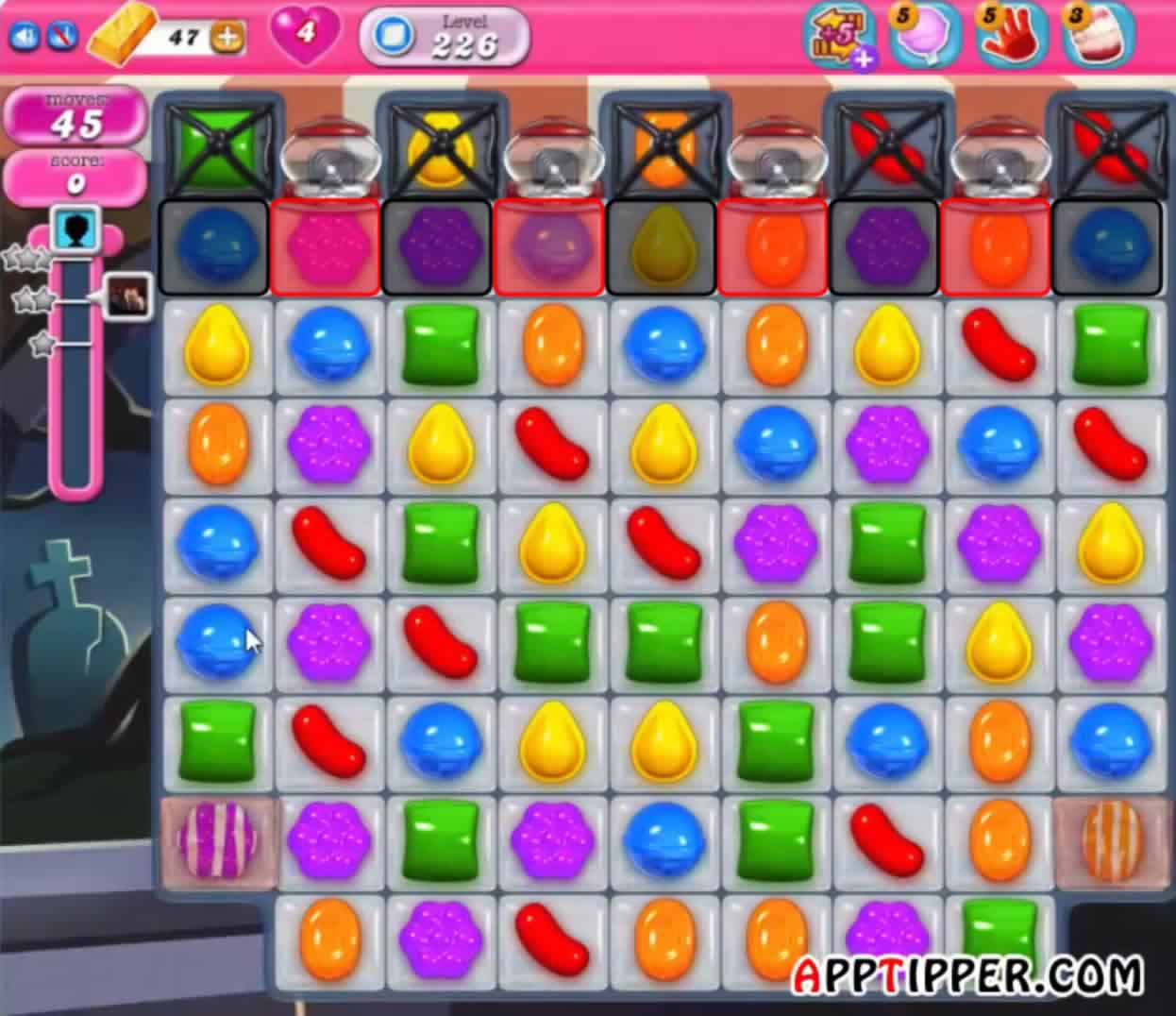 how to use fish in candy crush saga