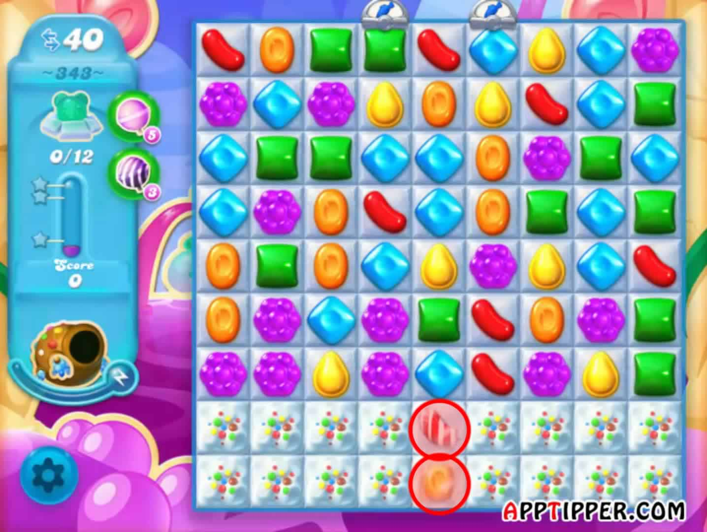 Candy Crush Soda Level 343 Image