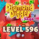 Diamond Digger Saga Level 596