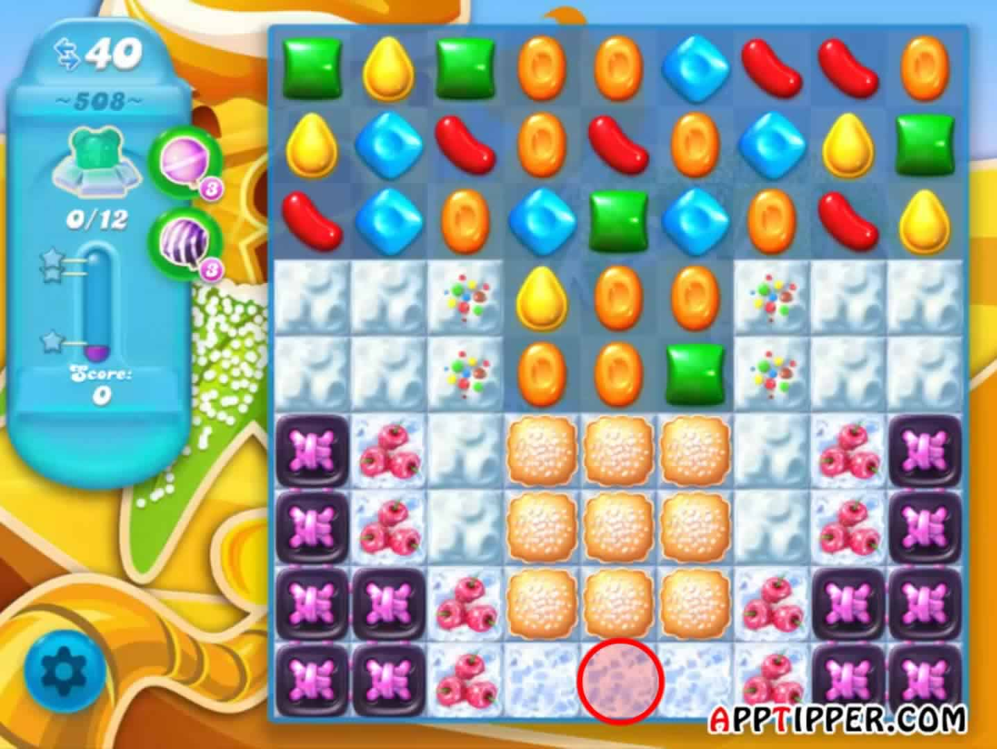 Candy Crush Soda Level 508 Image