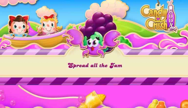 How to Spread the Jam in Candy Crush Soda Saga