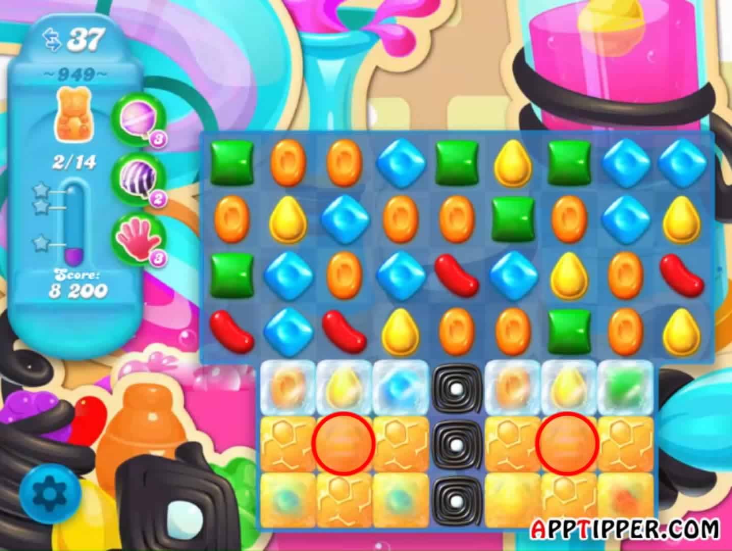 Candy Crush Soda level 949 Image