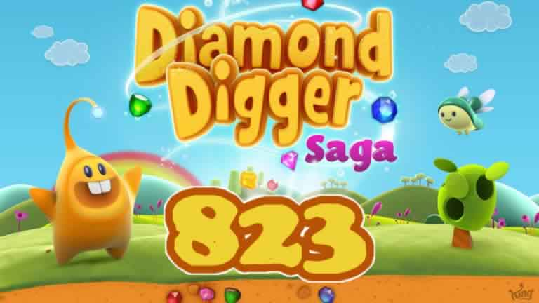 Diamond Digger Saga Level 823