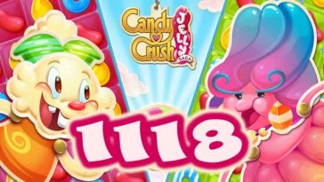 Candy Crush Jelly Saga Level 1118
