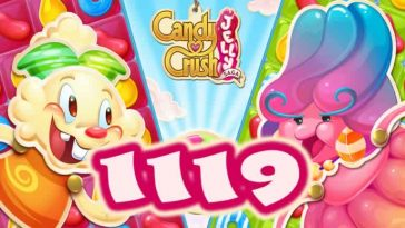 Candy Crush Jelly Saga Level 1119