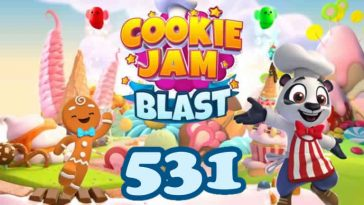 Cookie Jam Blast Level 531