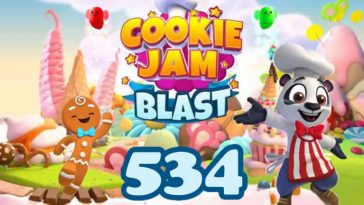 Cookie Jam Blast Level 534