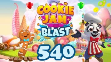 Cookie Jam Blast Level 540