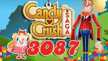 Candy Crush Saga Level 3087