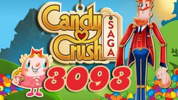 Candy Crush Saga Level 3093